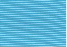 HILCO campan donker en licht turquoise gestreept