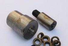 opzetstukken voor nestels van 5 mm voor pers DK93