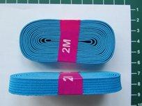 bosje elastiek 1 cm breed turquoise