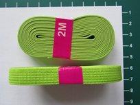 bosje elastiek 1 cm breed lime