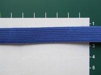 Elastiek 1,5 cm breed, blauw