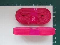 bosje elastiek 1 cm breed: fuchsia