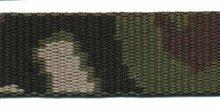 zeer stevig tassenband 2,5 cm breed, camouflageprint