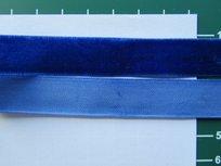 fluweelband, kobaltblauw