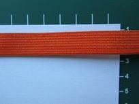 Elastiek 1,5 cm breed, oranje