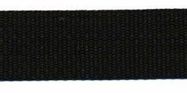 stevig tassenband 3 cm breed, zwart