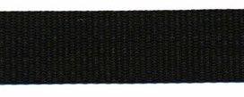 stevig tassenband 2 cm breed, zwart