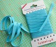 elastiek turquoise