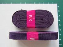 bosje elastiek 1 cm breed: paars