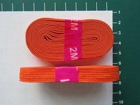 bosje elastiek 1 cm breed: oranje