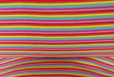 fijne boordstof multicolor gestreept