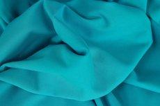 Heike: fijne boordstof turquoise (foto is van bijpassende Eike)
