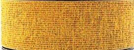 taille-elastiek 2,5 cm breed: goud / HALVE METER