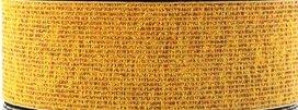 taille-elastiek 2 cm breed: goud/ HALVE METER