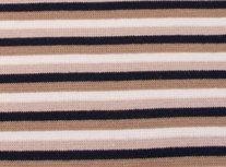 fijne boordstof gestreept: 4mm strepen: zwart / zand/ gebroken wit /lichtbruin
