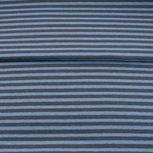 fijne boordstof jeans/grijze- streep 3,3 mm