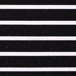 Tricot: brede strepen 4 cm multicolor zwart met wit : leuk!!