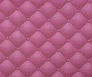 Geplastificeerde katoen roze/rodekool met