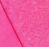Bora: roze gemêleerd: High-tech softshell: wind- en waterdicht! En toch ademend!