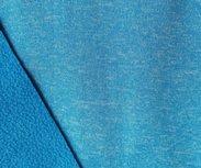 Bora: turquoise gemêleerd: High-tech softshell: wind- en waterdicht! En toch ademend!