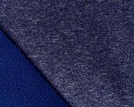 Bora: blauw gemêleerd: High-tech softshell: wind- en waterdicht! En toch ademend!