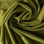 Gitte: tricot 160cm breed, mosgroen-legergroen