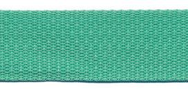 stevig tassenband 2,5 cm breed, mint