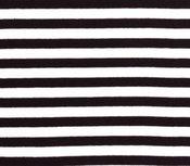 fijne boordstof brede zwart/witte streep 8 mm