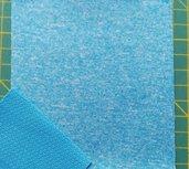 Borax = dunne softshell turquoise gemêleerd: wind-, waterdicht en ademend!