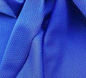 sporttricot high-tech mesh: kobaltblauw