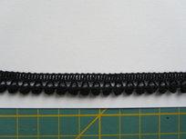 minibolletjesband,zwart