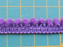minibolletjesband, paars
