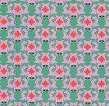 Kiss the frog! by Cherry Picking : geplastificeerde katoen