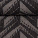 Harry, warme wintertricot met grafisch patroon in grijs/zwarte tinten