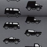 Vincent, auto's met ogen op zwart