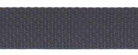 stevig tassenband 2,5 cm breed, donkergrijs