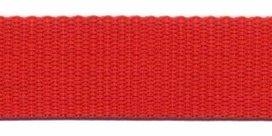 stevig tassenband 2,5 cm breed, rood