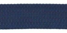 stevig tassenband 2,5 cm breed, donkerblauw