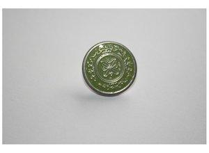 25 mm jeansknoop van Bonny Bee/ groen