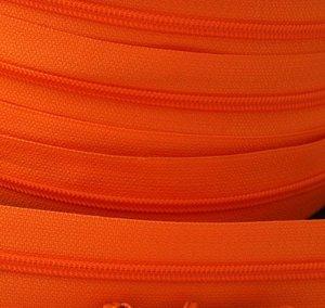 rits aan de meter, oranje 4mm