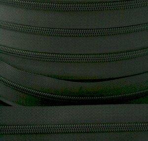 rits aan de meter, grijs 4mm