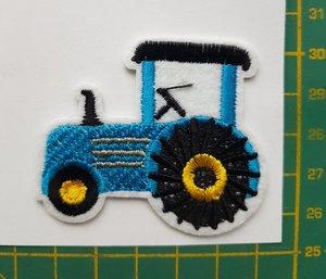opstrijkbare applicatie: tractor