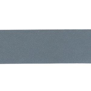 reflecterend band, effen donker zilver 3 cm