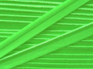 elastisch paspelband, neongroen