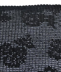 LULU: mooi rekbaar kant, zwart