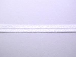 omvouwelastiek: gebroken wit