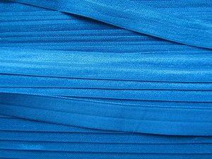 omvouwelastiek: turquoise