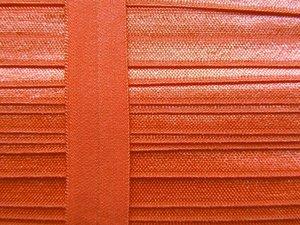 omvouwelastiek: oranje