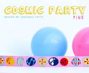 Cosmic Party pink, sierbandje