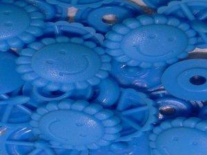 snaps sun felblauw kleur 8